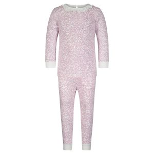 Lila + Hayes Baby/Toddler/Big Kid Ava Two Piece Pajama Set - Pink Petals