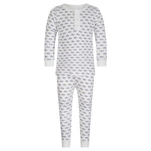 Lila + Hayes Baby/Toddler/Big Kid Jack Two Piece Pajama Set - Summer Soaring