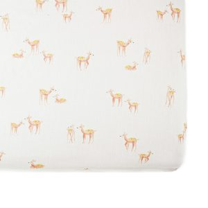 Pehr Follow Me Deer Crib Sheet