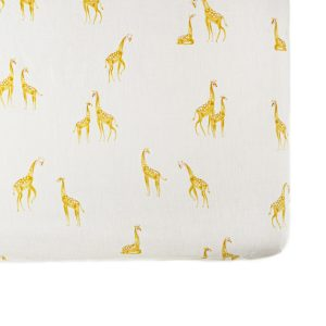 Pehr Follow Me Giraffe Crib Sheet