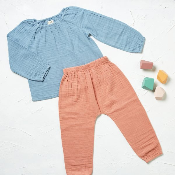 styled ls muslin top and pants 2
