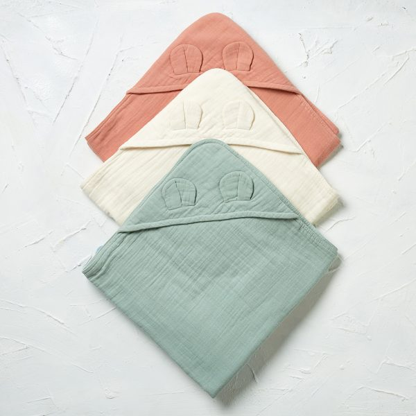 styled hooded towels