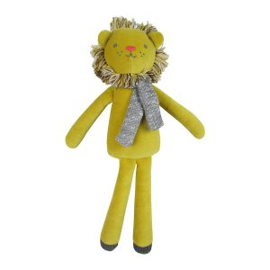 Albetta Cotton Velvet Midi Leo Lion Toy