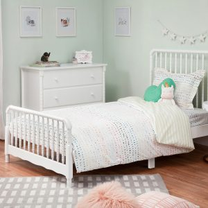 DaVinci Jenny Lind Twin Bed - White