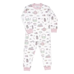 Baby Noomie Baby/Toddler/Big Kid Two Piece Pajama Set - Macaroons