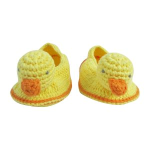 Albetta Baby Crochet Domi Ducks Booties