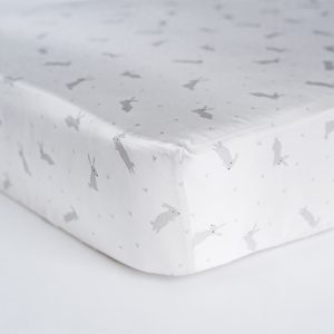 Coco Beans Dreamy Bunnies Fitted Crib Sheet