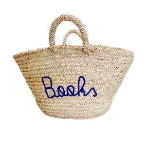 COLORES Collective Jumbo Home Bag- Books Navy Blue