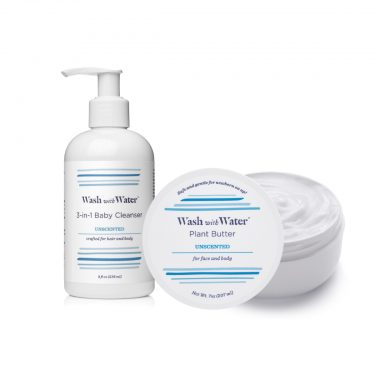 Wash with Water Sensitive Skin Moisture & Cleanse Gift Set