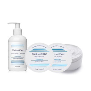 Wash with Water Sensitive Baby Bath & Body Essentials Gift Set