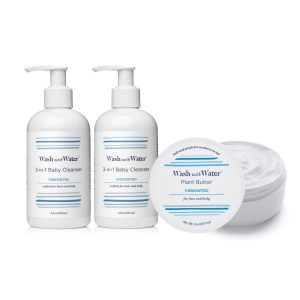 Wash with Water Sensitive Baby Bathtime Essentials Gift Set