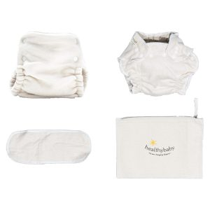 healthynest Cloth Diaper Trial with Merino Wool Outercover