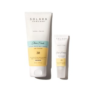 Solara Suncare Protect + Nourish Sensitive SPF Duo