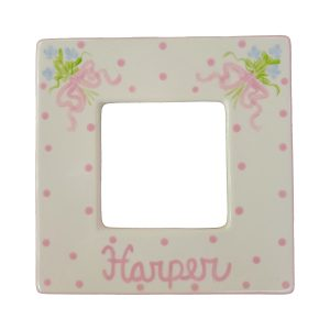 Caroline & Co Hand Painted Square Picture Frame