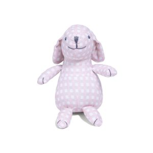 Louelle Bunny - Dusty Pink gingham