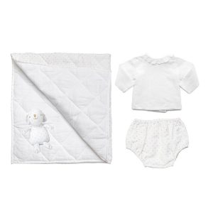 Louelle Newborn Essential Gift Set - Gold Spot
