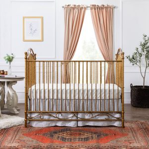 Million Dollar Baby Classic Camellia 3-in-1 Convertible Crib - Vintage Gold