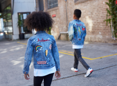 Good Vibes, Great Jackets: Customized, Hand-Painted Levi's Jackets, Only At The Tot