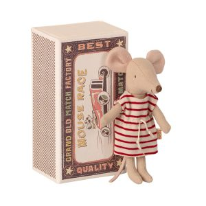 Maileg Big Sister Mouse in a Matchbox