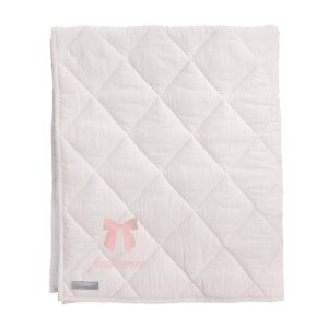 Louelle Personalized Play Mat - Blossom Pink