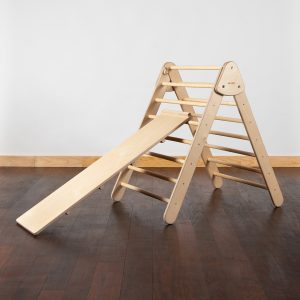 Wiwiurka Foldable Triangle with Reversible Ramp - Natural