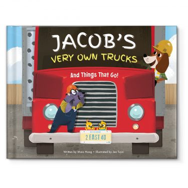I See Me! My Very Own Trucks Personalized Storybook