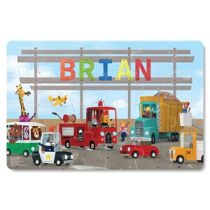 I See Me! My Very Own Trucks - 24 Piece Personalized Puzzle