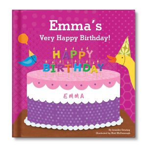 I See Me! My Very Happy Birthday Board Book - Pink