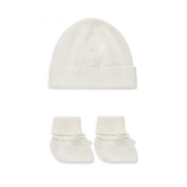 Marie-Chantal Angel Wing Hat and Booties Gift Set