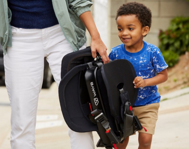 The Fold & Go Car Seat That Will Change the Way You Travel