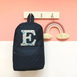 My Little Shop UK Liberty of London Personalized Initial Backpack