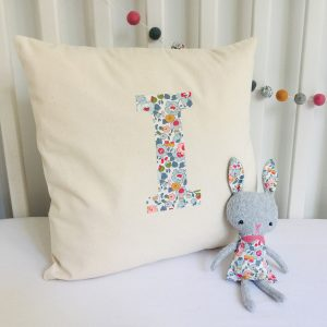 My Little Shop UK Liberty of London Personalized Cushion Cover