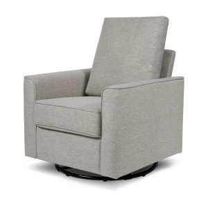 Million Dollar Baby Classic Alden Swivel Glider in Eco-Performance Fabric | Water Repellent & Stain Resistant