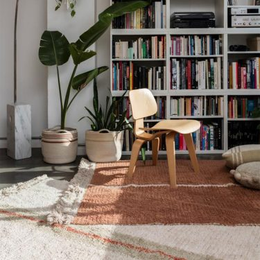 Lorena Canals Duetto Reversible Washable Rug - Toffee