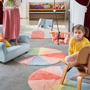 Lorena Canals Woolable Rug Pie Chart