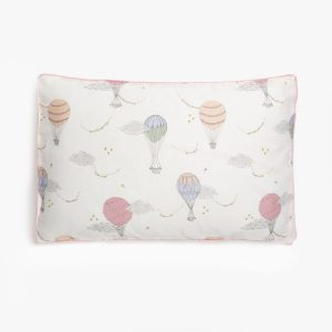 Gooselings Touch The Sky Toddler Pillow - Pink