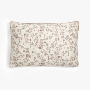 Gooselings Into The Woodlands Toddler Pillow - Ivory