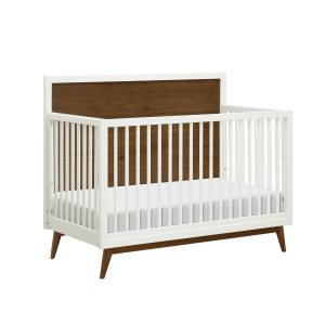 Babyletto Harlow 3-in-1 Convertible Acrylic Crib with Conversion Kit