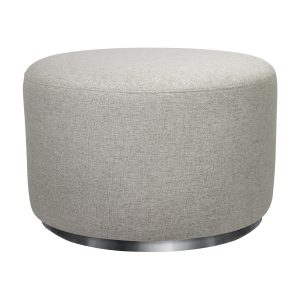 Babyletto Tuba Gliding Ottoman in Eco-Performance Fabric | Water Repellent & Stain Resistant