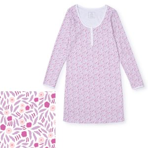 Lila + Hayes Ann Nightgown - Berry Floral