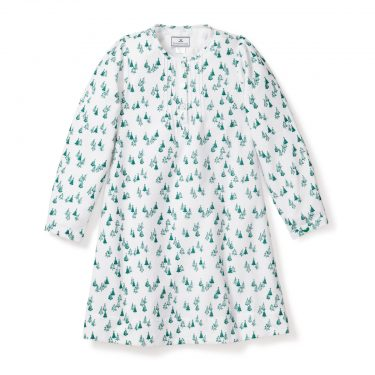 Petite Plume Baby/Toddler/Big Kid Evergreen Forest Beatrice Nightgown
