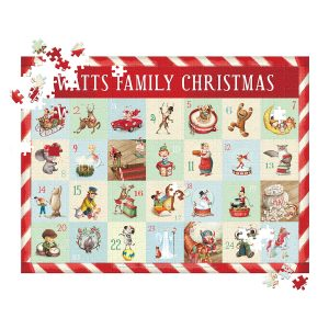 I See Me! Countdown to Christmas - 500 Piece Personalized Puzzle