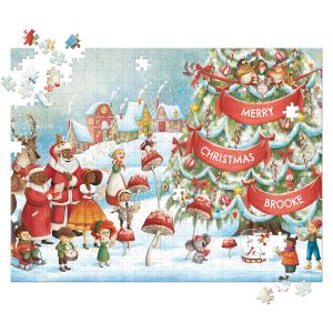 I See Me! My Very Own Christmas - 500 Piece Personalized Puzzle