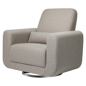 Babyletto Tuba Extra Wide Swivel Glider in Eco-Performance Fabric | Water Repellent & Stain Resistant