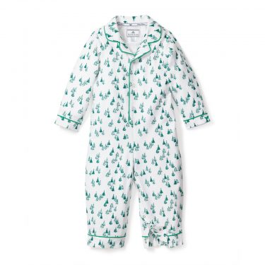 Petite Plume Baby Evergreen Forest Romper