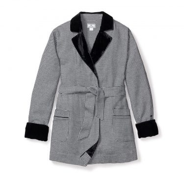 Petite Plume Women's West End West End Houndstooth Robe