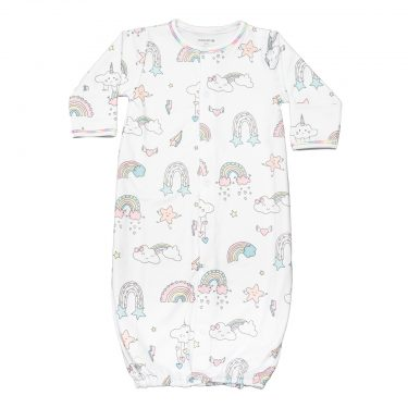 Baby Noomie Baby Convertible Gown - Rainbow World
