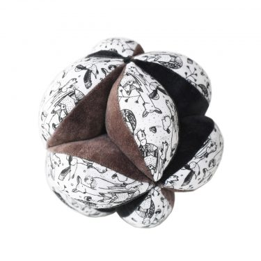 Wee Gallery Sensory Puzzle Ball - Woodland